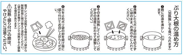 鰤大根食べ方